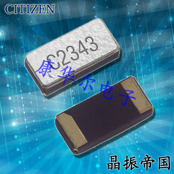 西铁城晶振,石英晶振,CM415晶振