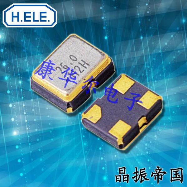 加高晶振,压控温补晶振,HSA221S四脚有源晶振