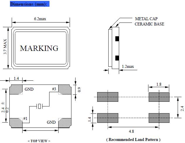 NSK晶振,贴片晶振,NXC-63晶振,6035晶振