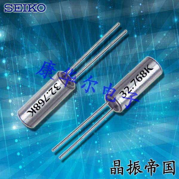 精工晶振,石英晶振,VT-308圆柱插件晶振