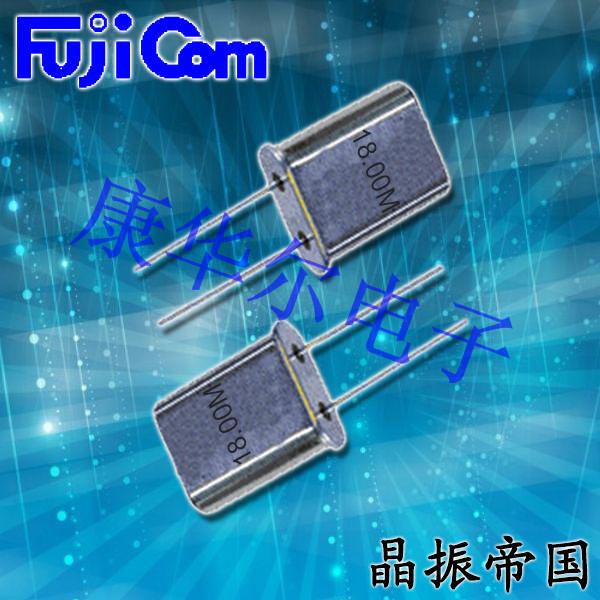 富士晶振,插件晶振,HC49U晶振,49U晶振