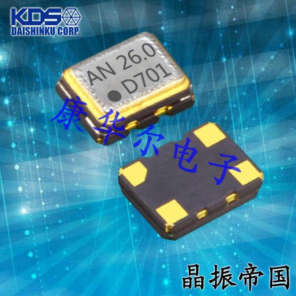 KDS晶振,温补晶振,DSB221SCM晶振,1XXD38400HCA晶振