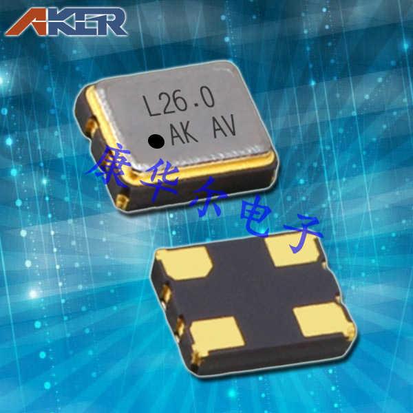 AKER晶振,3225压控温补晶振,VTON-321有源晶体