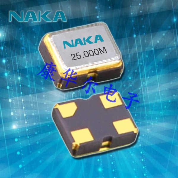 NAKA晶振,日本进口晶振,SP250振荡器