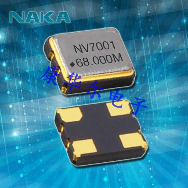 NAKA晶振,消费电子晶振,SP300有源晶体