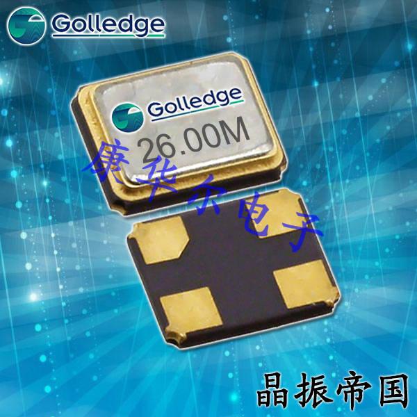 Golledge Crystal,小型石英晶体谐振器,GSX-113石英晶体
