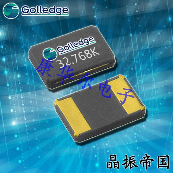 Golledge Crystal,陶瓷面两脚晶振,CC2A-T1AH贴片晶振