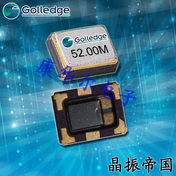 Golledge Crystal,耐高温振荡器,GTXO-203T温补晶振