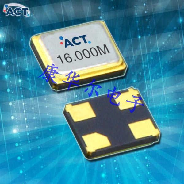 ACT晶振,1612H-SMX-4晶振,石英水晶振动子